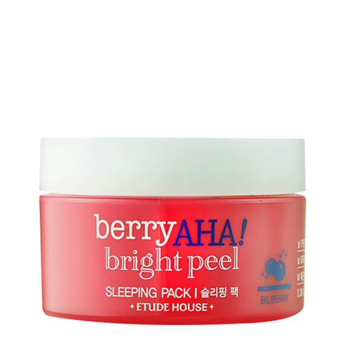 Ночная маска Etude House Berry AHA Bright Peel Sleeping Pack