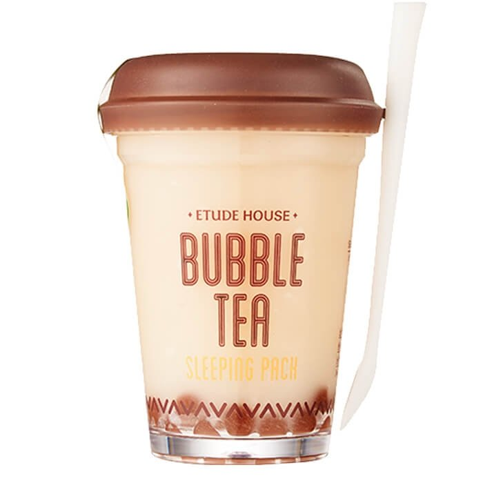 Ночная маска Etude House Bubble Tea Sleeping Pack - Black Tea