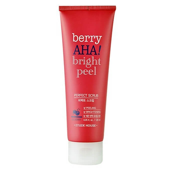 Скраб для лица Etude House Berry AHA Bright Peel Perfect Scrub