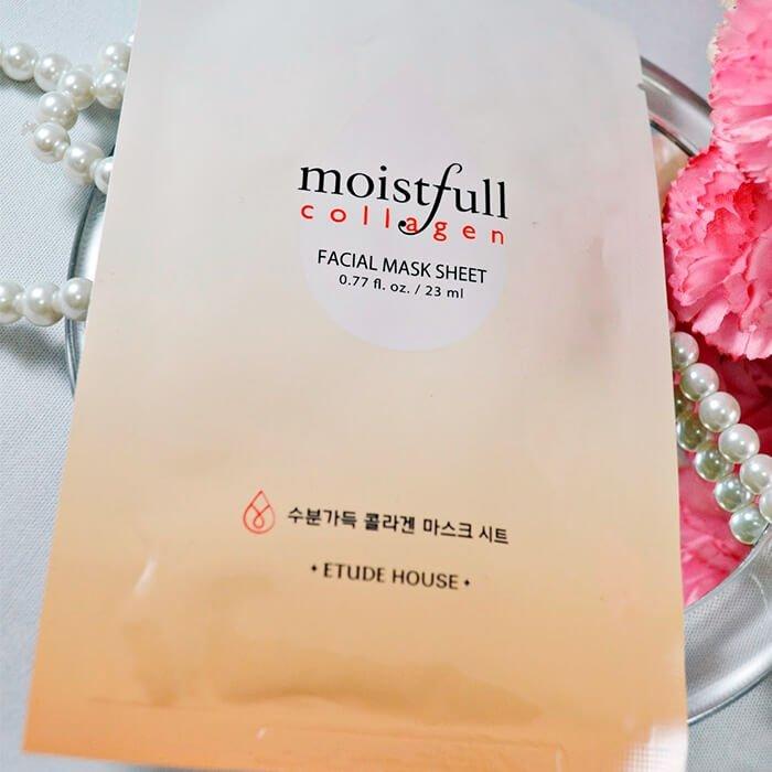 Тканевая маска Etude House Moistfull Collagen Mask Sheet