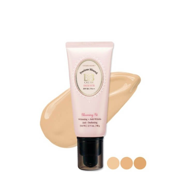 ВВ крем Etude House Precious Mineral BB Cream Blooming Fit