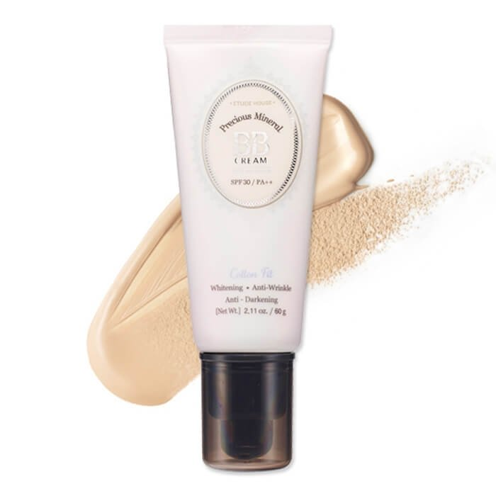 ВВ крем Etude House Precious Mineral BB Cream Cotton Fit