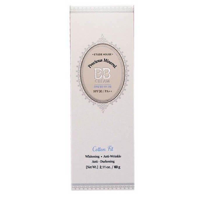 ВВ крем Etude House Precious Mineral BB Cream Cotton Fit