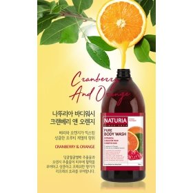 Гель для душа Evas Naturia Pure Body Wash Cranberry & Orange (750 мл)