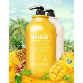 Шампунь для волос Evas Pedison Institut-Beaute Mango Rich Protein Hair Shampoo (2л)
