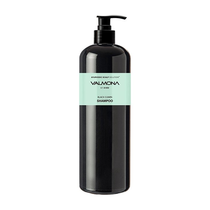 Шампунь для волос Evas Valmona Ayurvedic Scalp Solution Black Cumin Shampoo (480 мл)