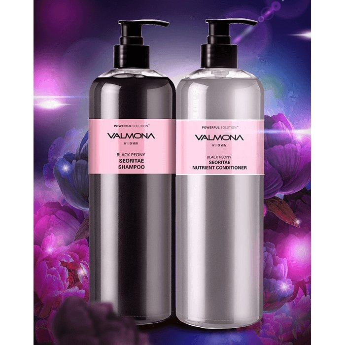 ШампÑÐ½Ñ Ð´Ð»Ñ Ð²Ð¾Ð»Ð¾Ñ Evas Valmona Powerful Solution Black Peony Seoritae Shampoo (100 мл)