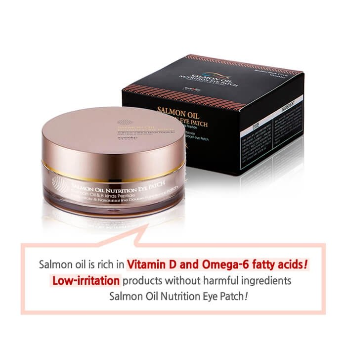 Гидрогелевые патчи Eyenlip Salmon Oil Nutrition Hydrogel Eye Patch