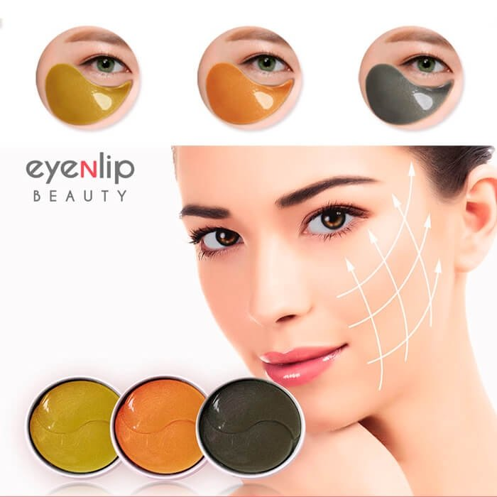 Гидрогелевые патчи Eyenlip Salmon Oil & Peptide Hydrogel Eye Patch