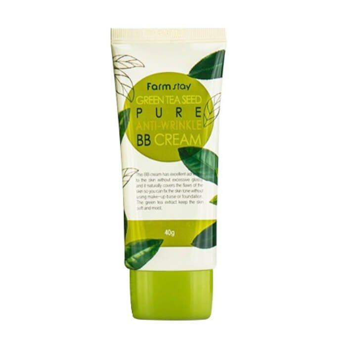 BB крем для лица FarmStay Green Tea Seed Pure Anti-Wrinkle BB Cream
