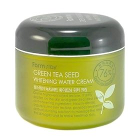 Крем для лица FarmStay Green Tea Seed Whitening Water Cream