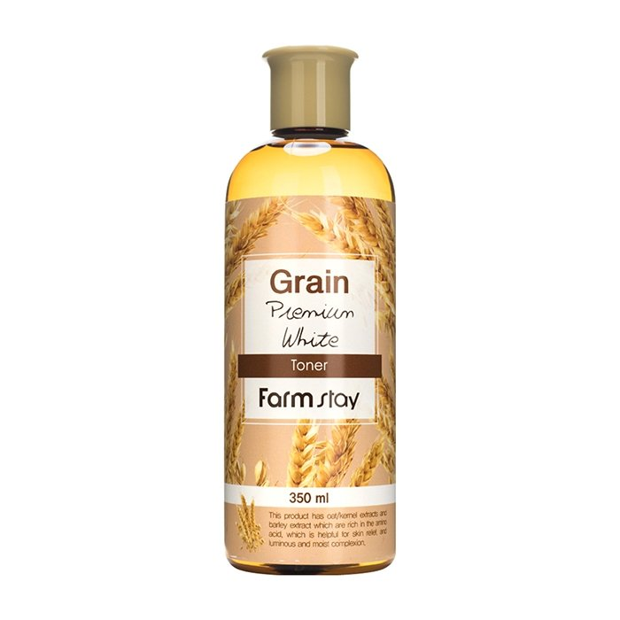 Тонер для лица FarmStay Grain Premium White Toner