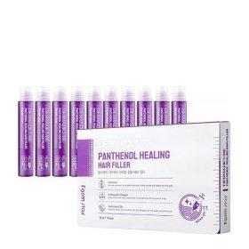 Филлер для волос FarmStay Derma Cube Panthenol Healing Hair Filler (10 шт.)