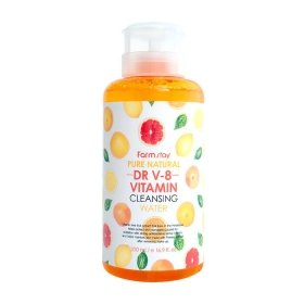 Очищающая вода FarmStay DR-V8 Pure Natural Cleansing Water Vitamin