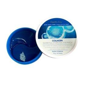 Патчи для глаз FarmStay Collagen Waterfull Hydrogel Eye Patch