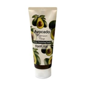 Пенка для лица FarmStay Avocado Premium Pore Deep Cleansing Foam