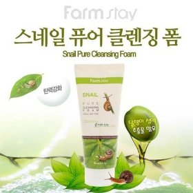 Пенка для лица FarmStay Snail Pure Cleansing Foam