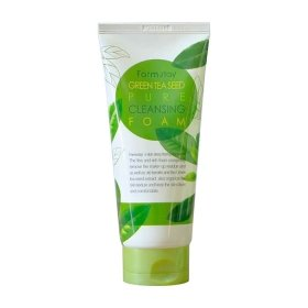 Пенка для умывания FarmStay Green Tea Seed Pure Cleansing Foam