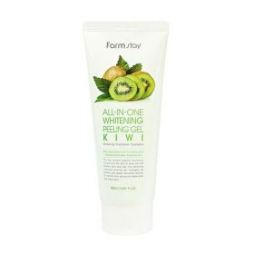 Пилинг-скатка для лица FarmStay All In One Whitening Peeling Gel Cream Kiwi