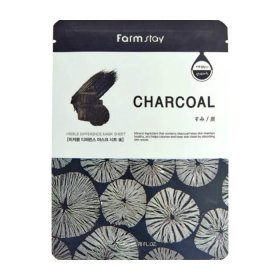 Тканевая маска FarmStay Visible Difference Mask Sheet Charcoal
