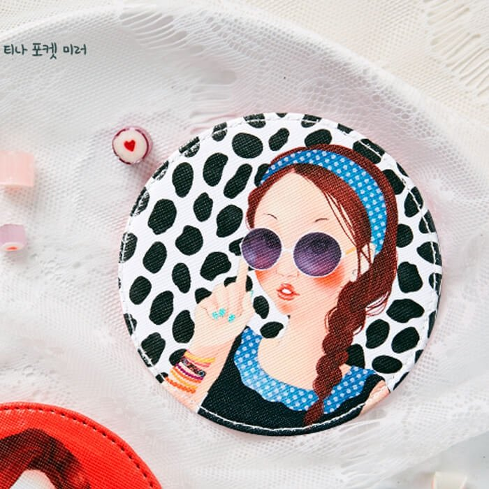 Компактное зеркало Fascy Sunglass Tina Pocket Mirror