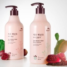Гель для душа Flor de Man Jeju Prickly Pear Body Cleanser
