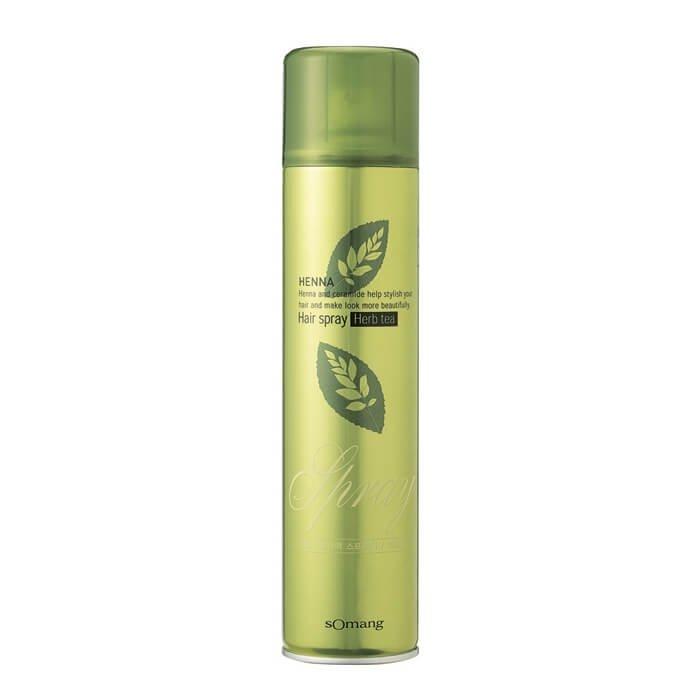 Лак для волос Flor de Man Henna Hair Spray - Herb Tea