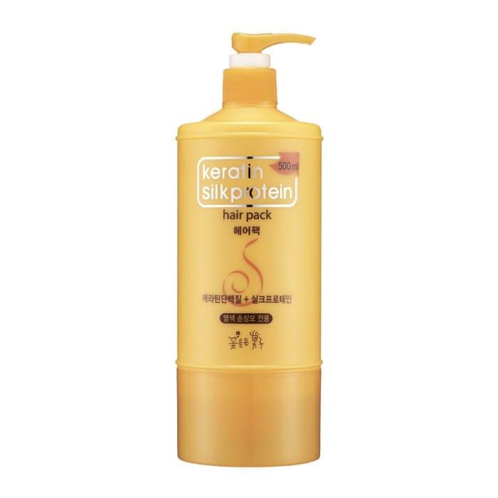 Маска для волос Man with Flowers Keratin Silkprotein Hair Pack (mini)
