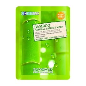 3D Маска для лица FoodaHolic Bamboo Natural Essence 3D Mask