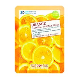 3D Маска для лица FoodaHolic Orange Gram Natural Essence 3D Mask
