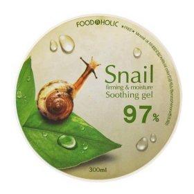 Гель с улиткой FoodaHolic Snail Firming & Moisture Soothing Gel 97%