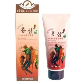 Очищающая пенка FoodaHolic Red Ginseng Skin Relaxation Foam Cleansing