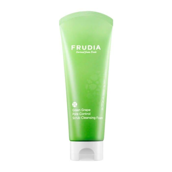 Очищающая пенка Frudia Green Grape Pore Control Scrub Cleansing Foam