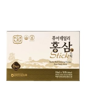 Женьшень питьевой в стиках Gangwon Korea Red Ginseng Extract Pure Daily Stick (30шт)
