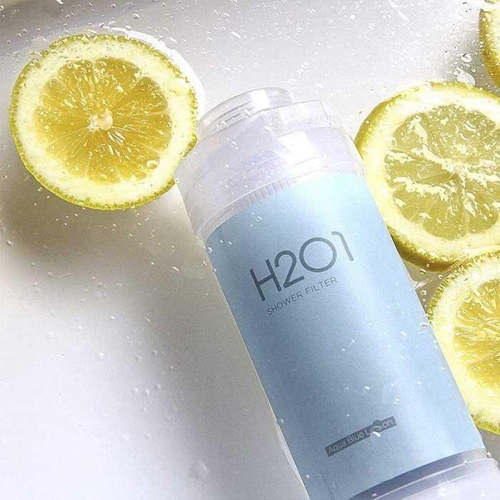 Фильтр для душа H201 Vitamin Shower Filter - Aqua Blue Lemon
