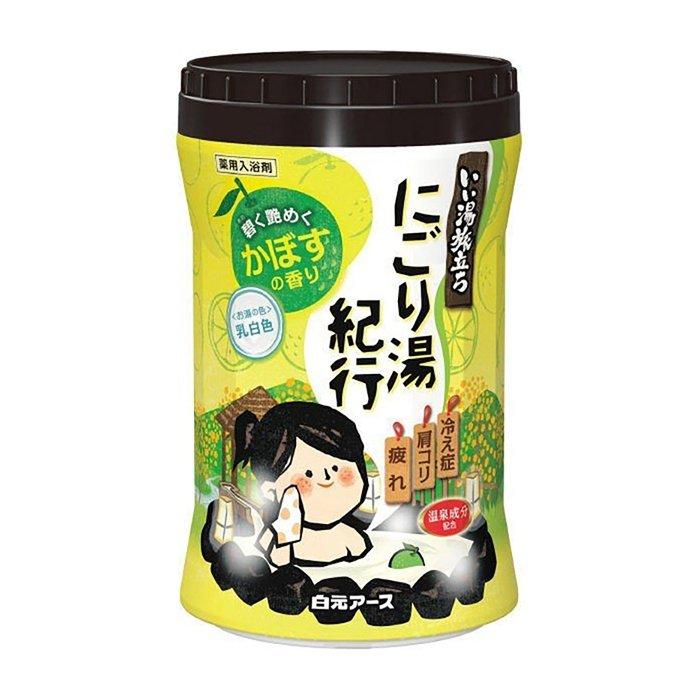 Соль для ванны Hakugen Earth Citrus