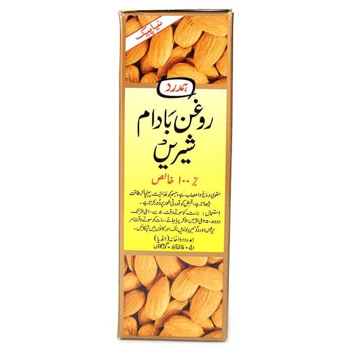 Масло сладкого миндаля Hamdard Roghan Badam Shirin (100 мл)