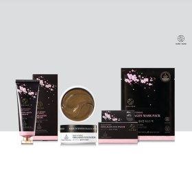 Тканевая маска HANIxHANI Black Intensive Collagen Mask Pack