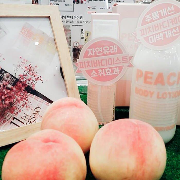 Мист для тела Hello Everybody Nature Holic Peach Body Mist
