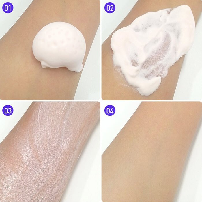 База под макияж Holika Holika Sweet Cotton Pore Cover Mousse Starter