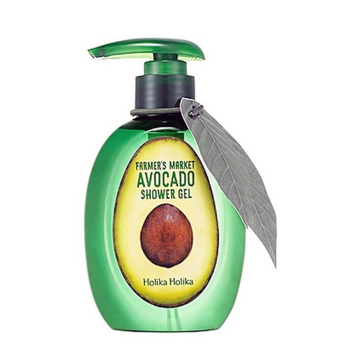 Гель для душа Holika Holika Farmer's Market Avocado Shower Gel