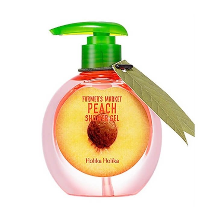 Гель для душа Holika Holika Farmer's Market Peach Shower Gel
