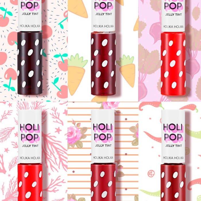 Гелевый тинт для губ Holika Holika Holi Pop Jelly Tint