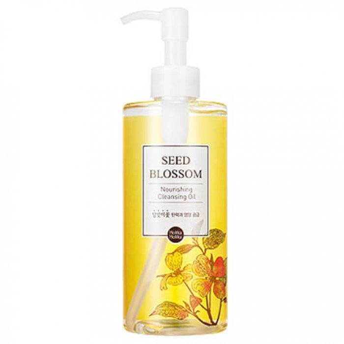 Гидрофильное масло Holika Holika Seed Blossom Nourishing Cleansing Oil