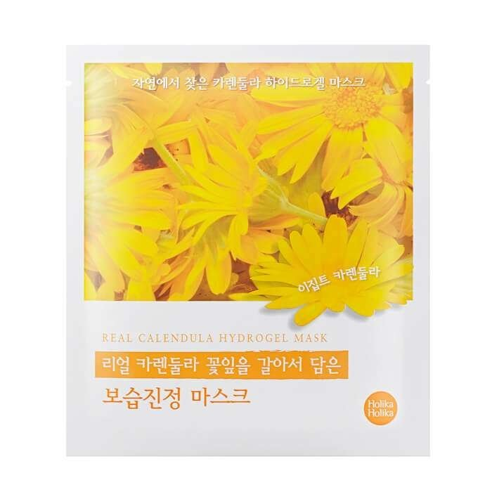 Гидрогелевая маска Holika Holika Found From Nature Calendula Hydrogel Mask