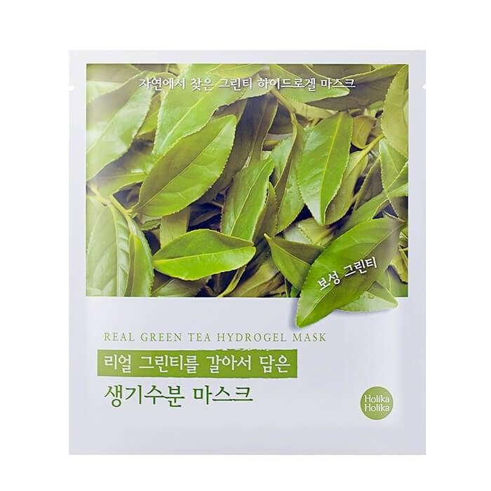 Гидрогелевая маска Holika Holika Found From Nature Green Tea Hydrogel Mask