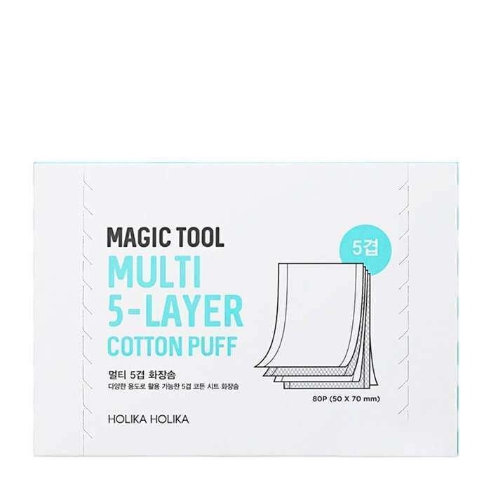 Хлопковые диски Holika Holika Magic Tool Multi 5-Layer Cotton Pads