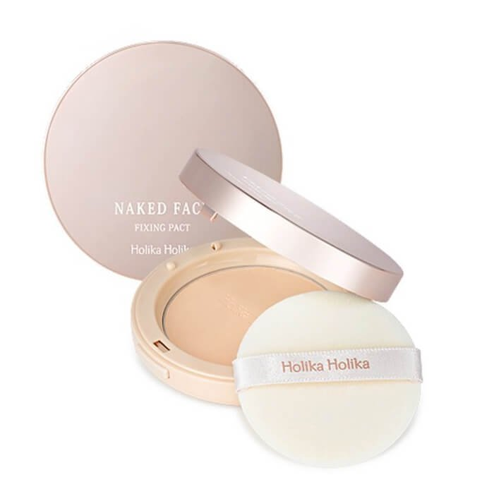 Пудра для лица Holika Holika Naked Face Fixing Pact