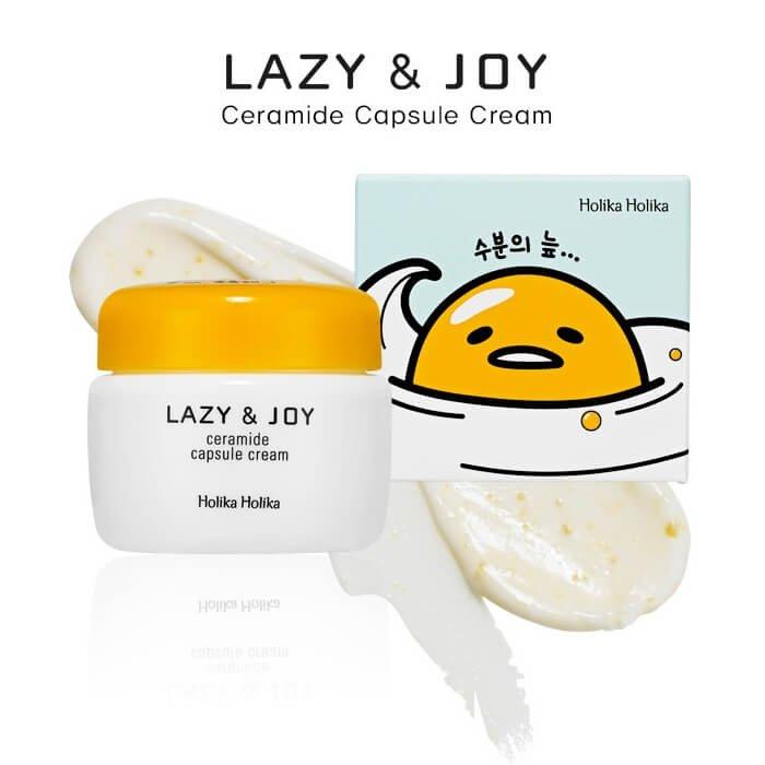 Крем для лица Holika Holika Gudetama Lazy & Joy Ceramide Capsule Cream