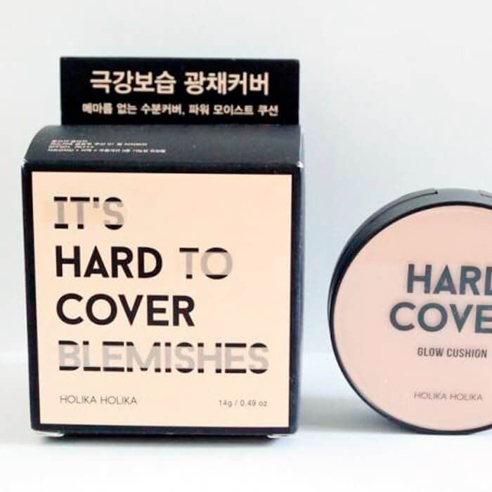 Кушон для лица Holika Holika Hard Cover Glow Cushion Set